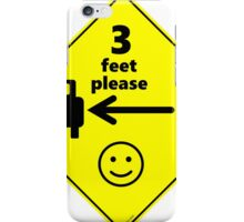 Safety First for Cyclists (US) iPhone Case/Skin
