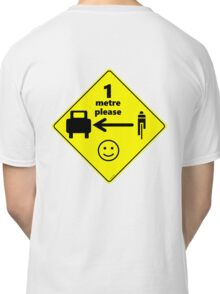 Safety First for Cyclists (Europe) Classic T-Shirt