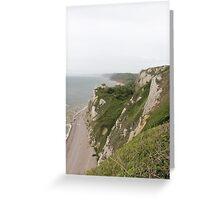 Beer Devon coastline Greeting Card