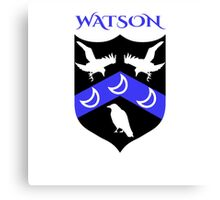 WATSON COAT OF ARMS Canvas Print