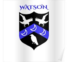 WATSON COAT OF ARMS Poster