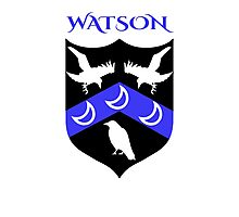 WATSON COAT OF ARMS Photographic Print
