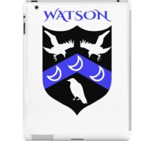 WATSON COAT OF ARMS iPad Case/Skin