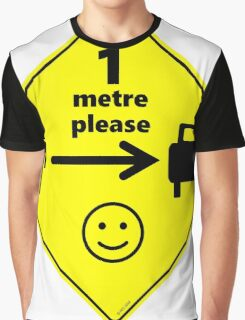 Safety First for Cyclists (AU, UK) Graphic T-Shirt