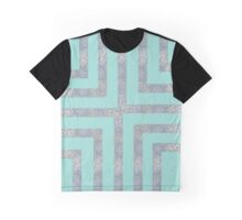 Stitched Ribbons Graphic T-Shirt