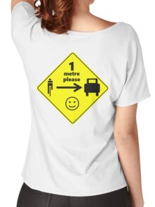 Safety First for Cyclists (AU, UK) Women's Relaxed Fit T-Shirt
