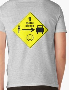 Safety First for Cyclists (AU, UK) Mens V-Neck T-Shirt