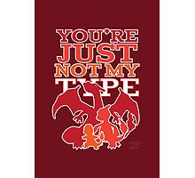 Not My Fire Type (2D) Photographic Print