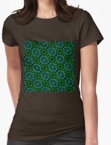 Abstract Design Pattern 535C Womens Fitted T-Shirt