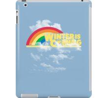 Rainbow Is Coming iPad Case/Skin