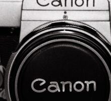 Old Canon Sticker