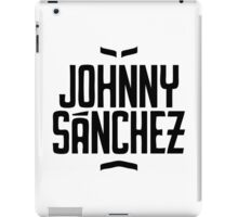 Johnny Sanchez Brand Name iPad Case/Skin