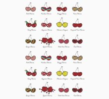 Oh My Cheeky Cherries! One Piece - Short Sleeve