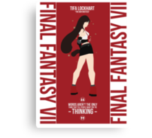 Tifa Lockheart FFVII Canvas Print