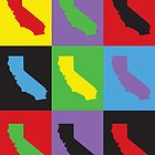 Pop Art California by ValeriesGallery