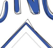 CNU Flag Sticker
