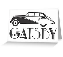 The Great Gatsby Quote Greeting Card