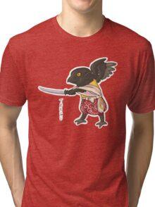 Fizzy Tengu - Japanese Youkai Tri-blend T-Shirt