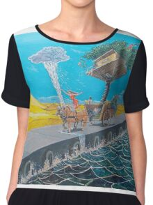 The ride of passions Chiffon Top