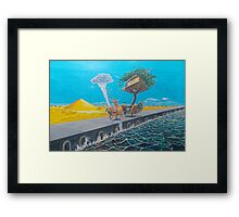 The ride of passions Framed Print