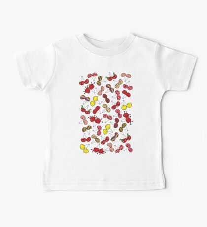 Oh, I'm Mad About Cheeky Cherries Pattern Baby Tee