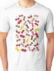 Oh, I'm Mad About Cheeky Cherries Pattern Unisex T-Shirt