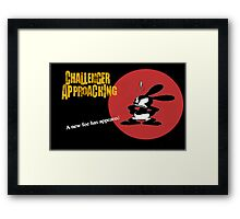 Oswald Approaching Framed Print