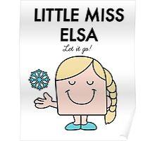 Little Miss Elsa Poster