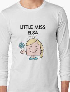 Little Miss Elsa Long Sleeve T-Shirt