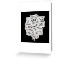 Jonathan Livingston Seagull Greeting Card