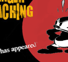 Oswald Approaching Sticker