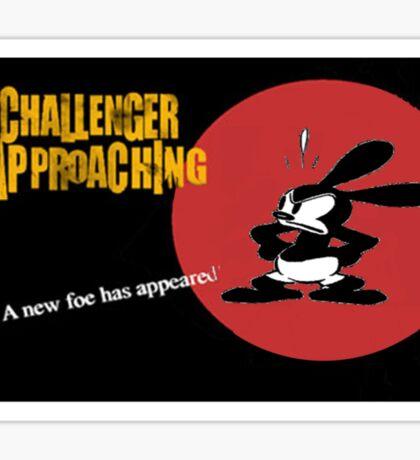 Oswald Approaching Sticker