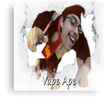 Vape Ape Canvas Print