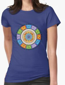 Zodiac Reflections Womens Fitted T-Shirt