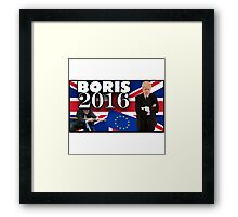 Boris Johnson - Prime Minister 2016 Framed Print