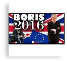 Boris Johnson - Prime Minister 2016 Canvas Print