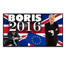 Boris Johnson - Prime Minister 2016 Photographic Print