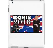 Boris Johnson - Prime Minister 2016 iPad Case/Skin
