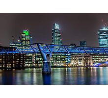 Millenium Bridge,London Photographic Print