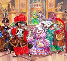 The Rattie Masquerade Ball by drusillak