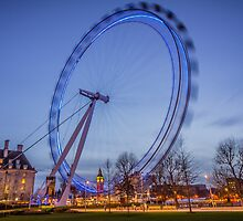London Eye,UK by dimitar74