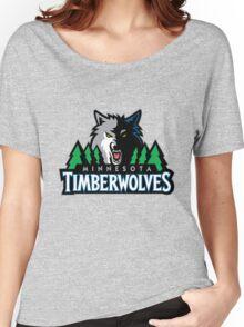 Minnesota Timberwolves 6 Women's Relaxed Fit T-Shirt
