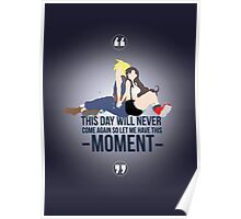 Cloud and Tifa - Moment Poster