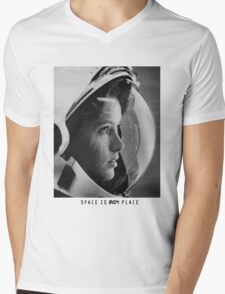 Space Is The Place Mens V-Neck T-Shirt
