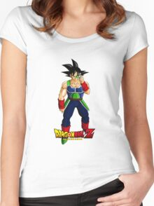 Dragon Ball Z - Bardock Scouter Women's Fitted Scoop T-Shirt