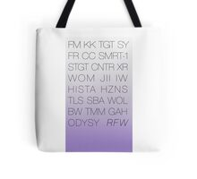 Retro Future World Tote Tote Bag