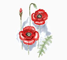 Remember the Red Poppies Unisex T-Shirt