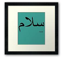 PEACE Framed Print