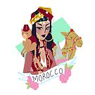 Morocco by Lucie Irvine