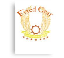 Fixed Gear - Cant Stop Wont Stop! Metal Print
